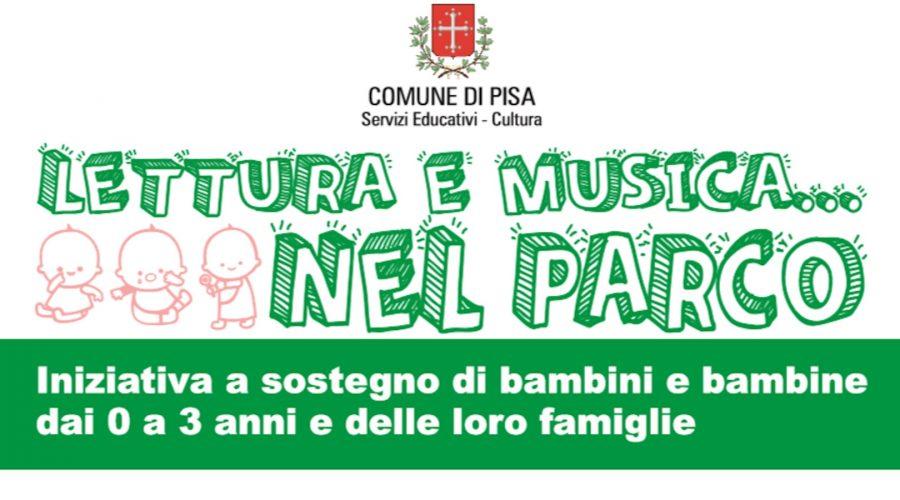 Attività per bambini 0-3 anni: lettura e musica nei parchi pisani