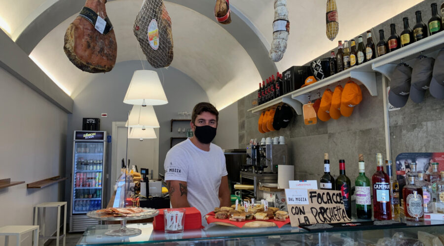 Succulente focaccine in centro a Pisa: Dal Mozza Gourmet